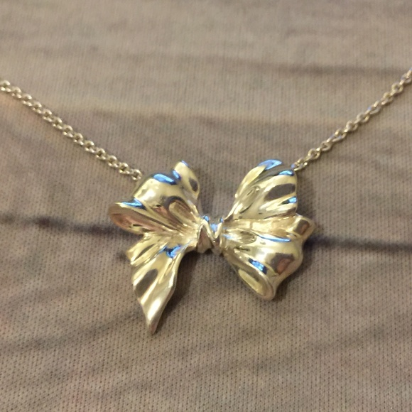 2938a98e4 Tiffany & Co. Jewelry   Rare Retired Vintage Tiffany Bow Ribbon ...